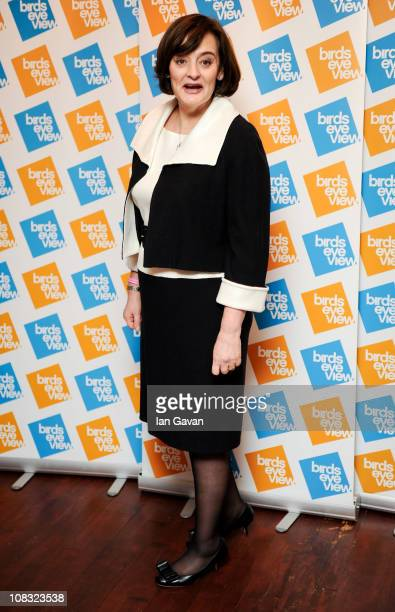 Cherie Blair attends the launch of the 7th Annual Birds Eye View Film Festival 2011 held at The Century Club on January 25 2011 in London England