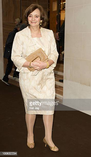 Cherie Blair attends the launch of the Louis Vuitton Bond Street Maison on May 25 2010 in London England