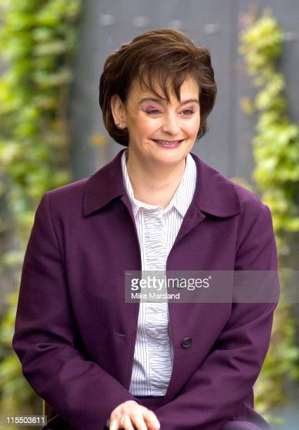 Cherie Blair attends the unveiling of the national police memorial designed by Sir Norman Foster Building work began on June 28 last year after...