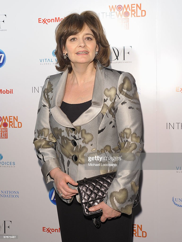 Cherie Blair attends the 'Women In The World: Stories and Solutions' global summit at Hudson Theatre on March 12, 2010 in New York City.
