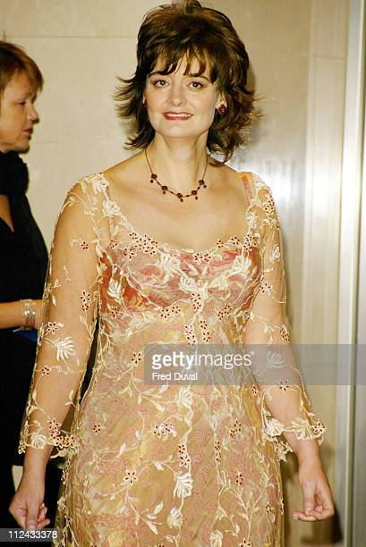 Cherie Blair during Breast Cancer Care's Fashion Show at The Hilton Hotel in London Great Britain