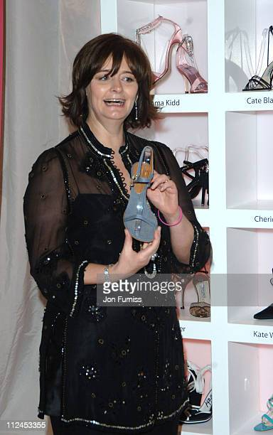 Cherie Blair during 'In Her Shoes' London Premiere After Party at grosvenor House Ballroom in London Great Britain