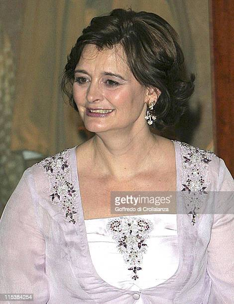 Cherie Blair during The 2005 Asian Women of Achievement Awards at London Hilton in London Great Britain