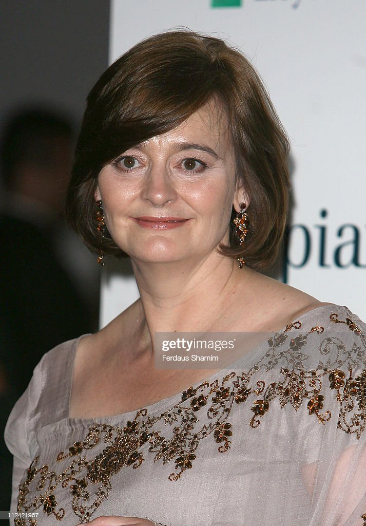 Cherie Blair during The Asian Women of Achievement Awards - Arrivals at London Hilton on Park Lane in London, United Kingdom.