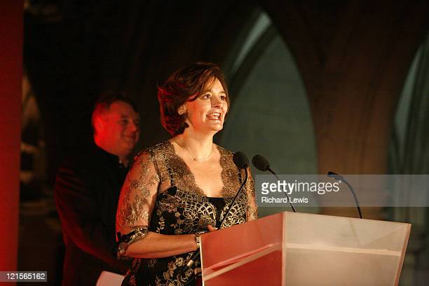 Cherie Booth Blair during Time Magazine 60th Anniversary Gala Evening Awards in London Great Britain