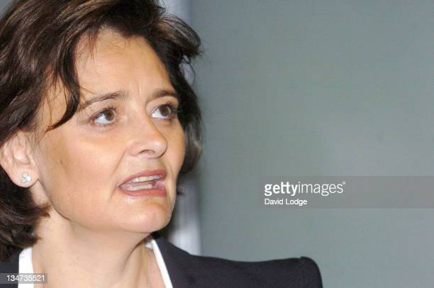 Cherie Booth QC during Reaching for the Stars and Mo's Star Press Launch at Simmons and Simmons in London Great Britain