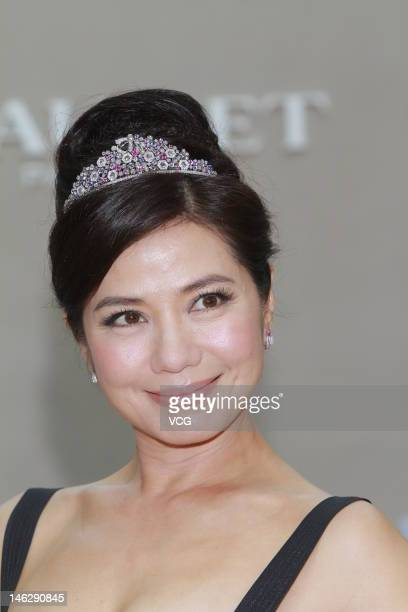 Cherie Chung attends Chaumet IFC Store Opening on June 12 2012 in Hong Kong China