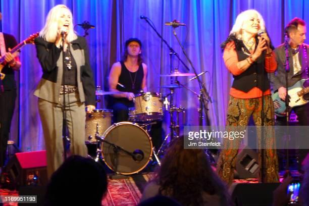 Cherie Currie Matt OloffsonBrie Darling Derek Frank perform at the Grammy Museum in Los Angeles California on August 1 2019