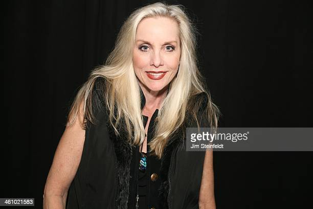 Cherie Currie of the Rock band The Runaways poses for a portrait at the Viper Room in Los Angeles California on December 6 2013