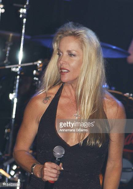 Cherie Currie of the Runaways during Camp Freddy in Concert at the Key Club in Los Angeles September 29 2005 at Key Club in Los Angeles California...
