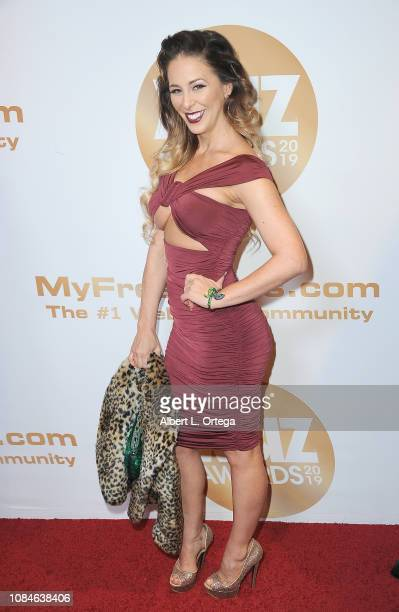 Cherie DeVille arrives for the 2019 XBiz Awards held at The Westin Bonaventure Hotel Suites on January 17 2019 in Los Angeles California