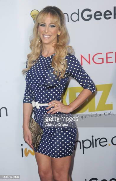 Cherie Deville arrives for XBiz's RISE Performer Appreciation Event held at 1 Oak on November 15, 2017 in West Hollywood, California.