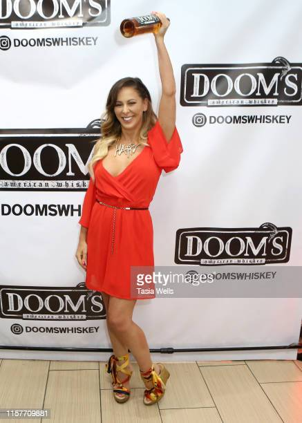 Cherie Deville attends Doom's Whiskey Tasting on June 22, 2019 in Glendale, California.