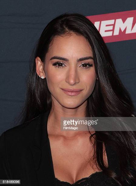 Cherie Jimenez attends Cinemax's Banshee fourth and final season premiere at UTA Theater on March 31 2016 in Los Angeles California