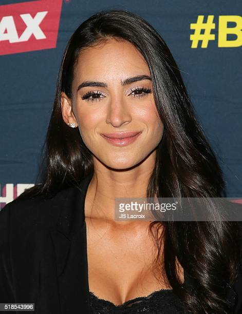 Cherie Jimenez attends the premiere of Cinemax's 'Banshee' 4th Season at UTA on March 31 2016 in Beverly Hills California