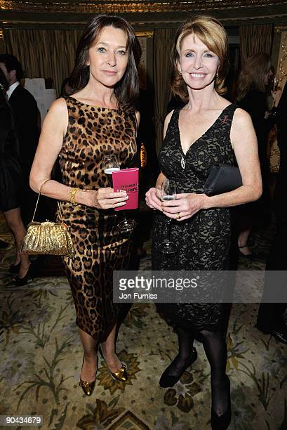 Cherie Lunghi and Jane Asher attend the TV Quick TV Choice Awards at The Dorchester on September 7 2009 in London England