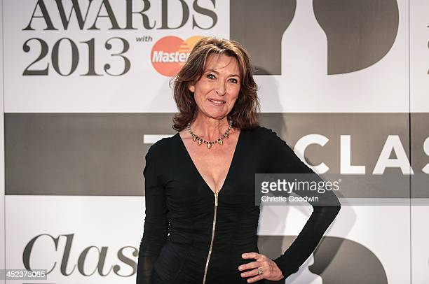 Cherie Lunghi attends the Classic BRIT Awards 2013 at Royal Albert Hall on October 2 2013 in London England
