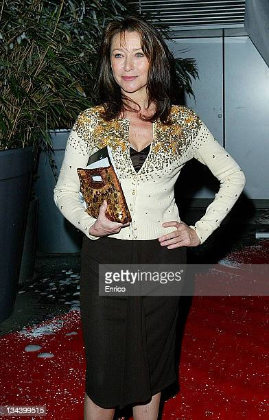 Cherie Lunghi attends the English National Ballet Night of the Snow Queen at the Coliseum on December 12 2007 in London England