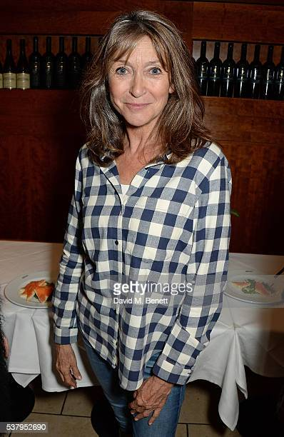 Cherie Lunghi attends the press night after party of Off The King's Road at Getti's on June 3 2016 in London England