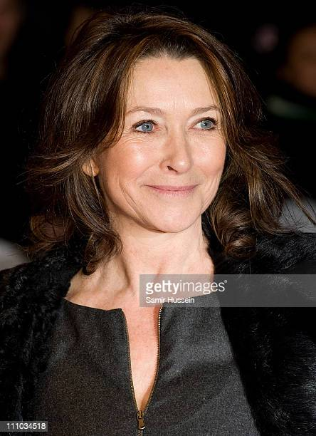 Cherie Lunghi attends the UK Film Premiere of 'Brighton Rock' at the Odeon West End on February 1 2011 in London England