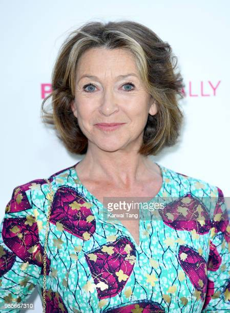 Cherie Lunghi attends the UK premiere of 'Patrick' on June 27 2018 in London England