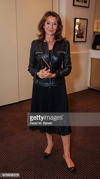 Cherie Lunghi attends the UK Premiere of 'The Uncondemned' at BAFTA on November 2 2016 in London England