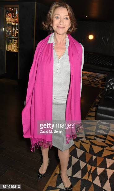 Cherie Lunghi attends the Women for Women International's #SheInspiresMe lunch at Quaglino's on November 16 2017 in London England