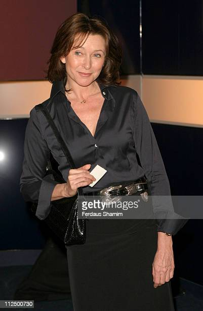 Cherie Lunghi during Hell's Kitchen II Day 14 Arrivals at Atlantis Building in London Great Britain