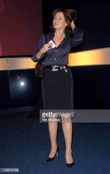 Cherie Lunghi during Hell's Kitchen II Day 14 Arrivals at ITV Studios in London Great Britain