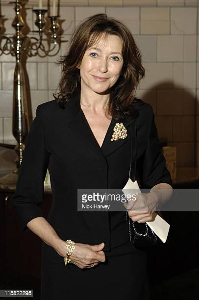 Cherie Lunghi during Krug Salon Launches Kathy Lette's New Book How To Kill Your Husband at The Courthouse Hotel in London Great Britain
