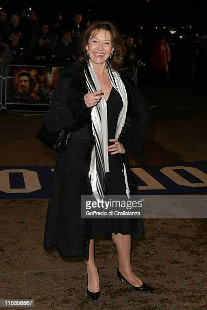 Cherie Lunghi during Merchant of Venice Royal Premiere London at Odeon Leicester Square in London Great Britain