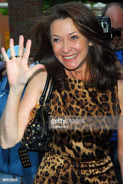 """Cherie Lunghie attends The """"Ballets Russes"""" Season Party at The Sadler's Wells Theatre on June 16, 2009 in London, England."""