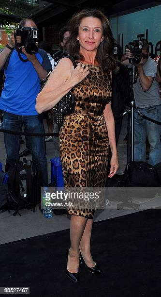 """Cherie Lungie attends The """"Ballets Russes"""" Season Party at The Sadler's Wells Theatre on June 16, 2009 in London, England."""