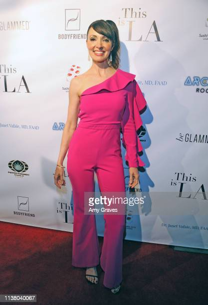 Cherise Bangs attends the 'This is LA' Season 3 Premiere Party at Yamashiro Hollywood on April 18 2019 in Los Angeles California