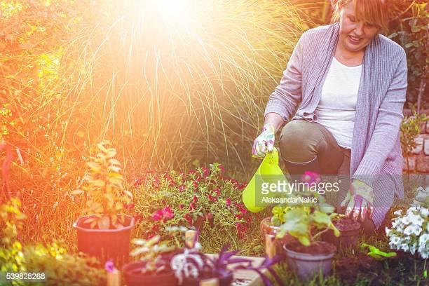 Cherishing my garden