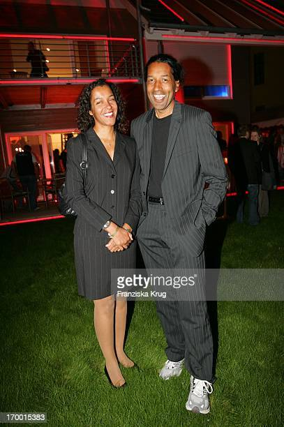 Cherno Jobatey And His sister Francine at The Party to Germany premiere of Deuce Bigalow European Gigolo In the TCom Showhouse In Leipziger Strasse...