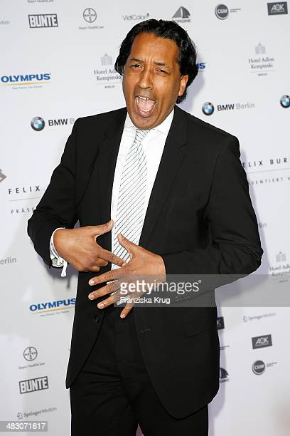 Cherno Jobatey attends the Felix Burda Award 2014 at Hotel Adlon on April 06 2014 in Berlin Germany