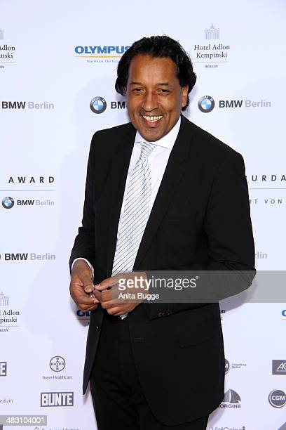 Cherno Jobatey attends the Felix Burda Award 2014 at Hotel Adlon on April 6 2014 in Berlin Germany