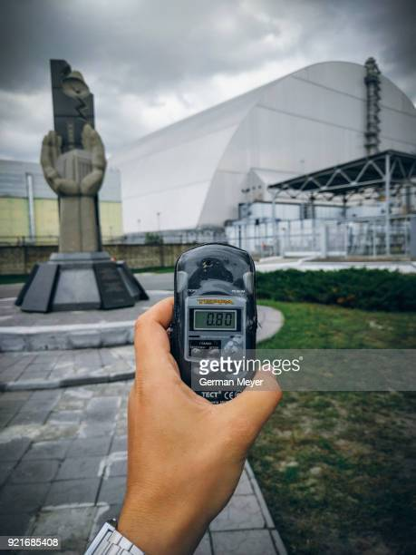 Chernobyl Power Plant & Geiger Counter