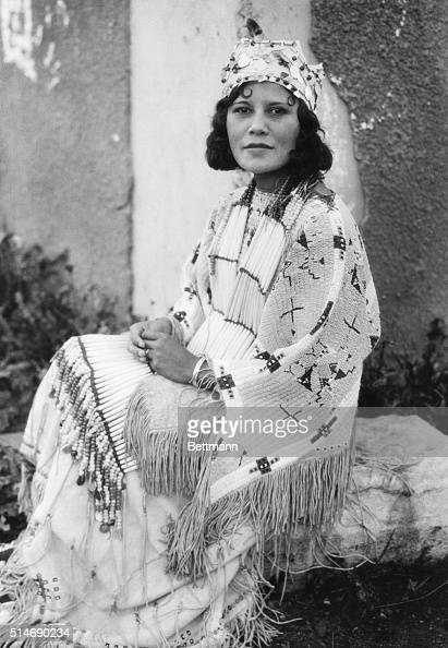 Cherokee Indian Woman Of Oklahoma News Photo  Getty Images-6873