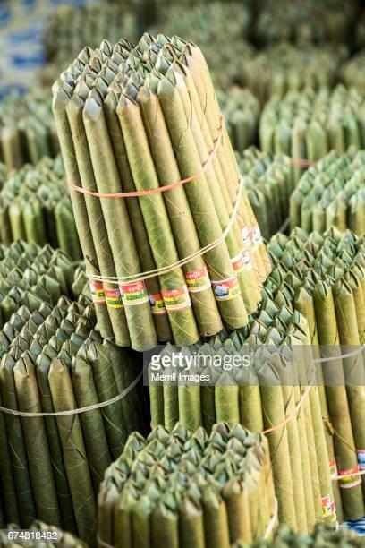 Cheroots (cigars) in market