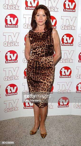 Cherrie Lunghi attends the TV Quick Tv Choice Awards at The Dorchester on September 7 2009 in London England