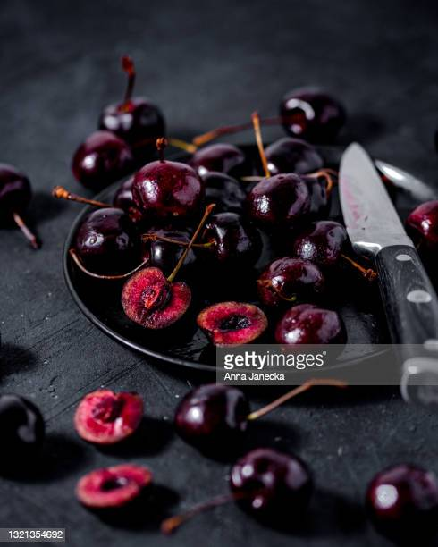 cherries - ripe stock pictures, royalty-free photos & images