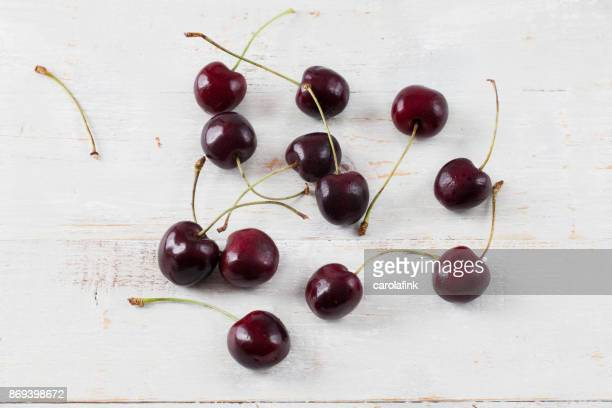 cherries - carolafink stock photos and pictures
