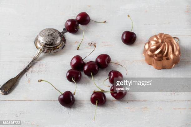 cherries - carolafink stock-fotos und bilder