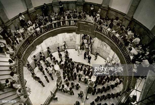 Cherry Creek Band Plays in Colorado Capitol Rotunda to promote Trip to Ireland Cherry Creek High School Band has been invited to participate in the...
