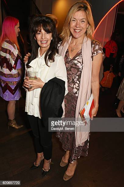 Cherry Gillespie and Janie Dee attend The Bash at The Royal Court Theatre a gala night of celebration to support the next 60 years of radical new...