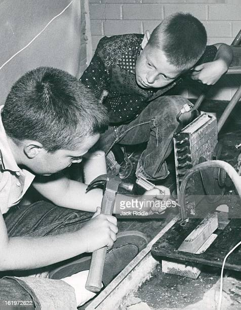 JUL 13 1960 JUL 14 1960 Cherry Hills School Pupils Build