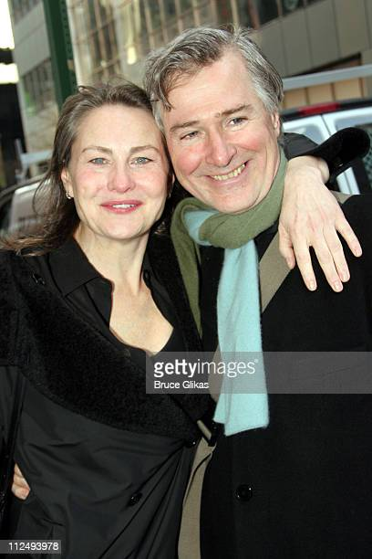 Cherry Jones and John Patrick Shanley playwright of 'Doubt'