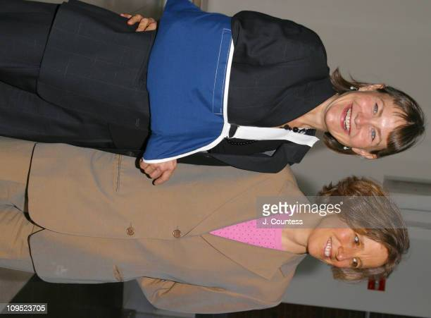 Cherry Jones and Mary O'Conner during Theatre for a New Audience Celebrates Shakesphere's 439th Birthday at Powerhouse at The American Museum of...